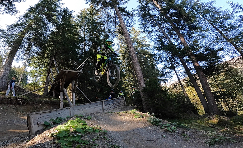 Big Drop im Bikepark Serfaus-Fiss-Ladis